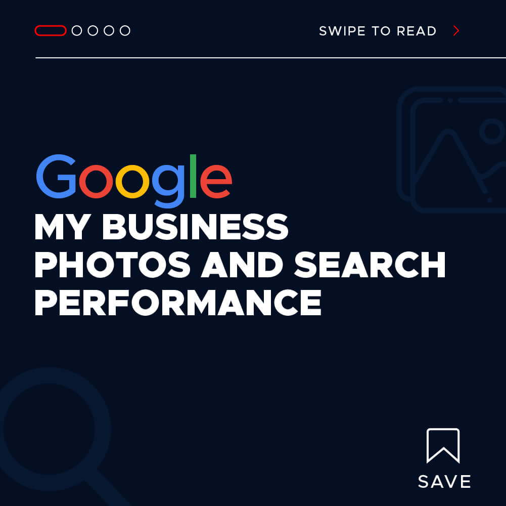 Google My Business photos and search performance- Title