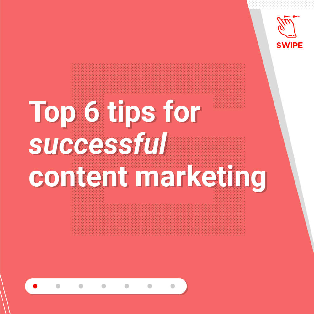 Top 6 tips for successful content marketing-Title