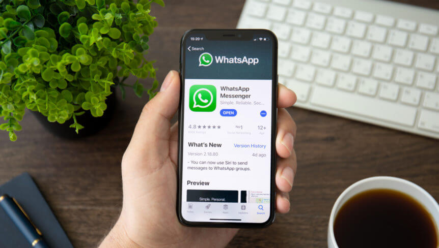 Google to Index Whatsapp Group inks