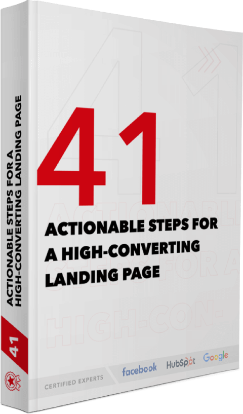 41 actionable steps for high converting Landing page